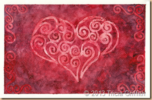 Filigree Heart - Tricia Griffith